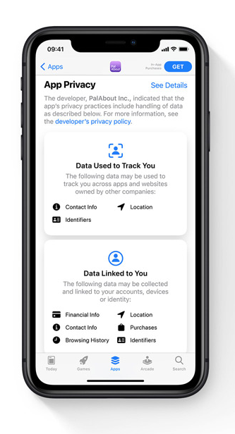Apple iSO 14 new data privacy update on iPhone